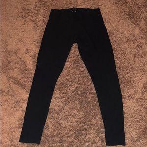 Size Large Black H&M women's leggings